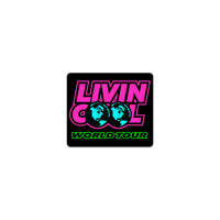 LIVINCOOL WORLD TOUR STICKER
