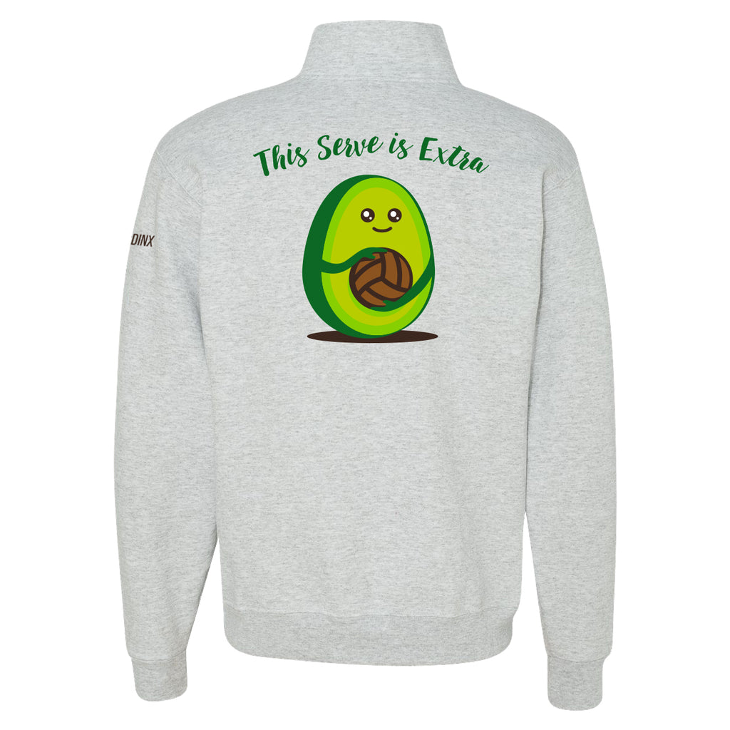 Guac Is Extra Quarter-Zip