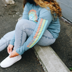 Rainbow Vibes Long Sleeve Shirt