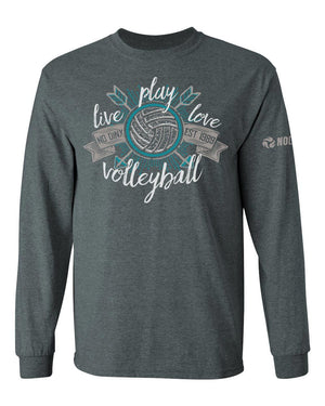 Live Play Love - No Dinx Volleyball