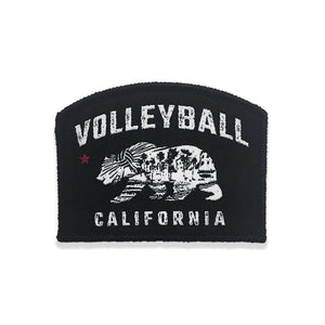 Bear California Patch - No Dinx Volleyball