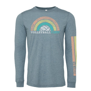 Rainbow Vibes Long Sleeve Shirt - No Dinx Volleyball