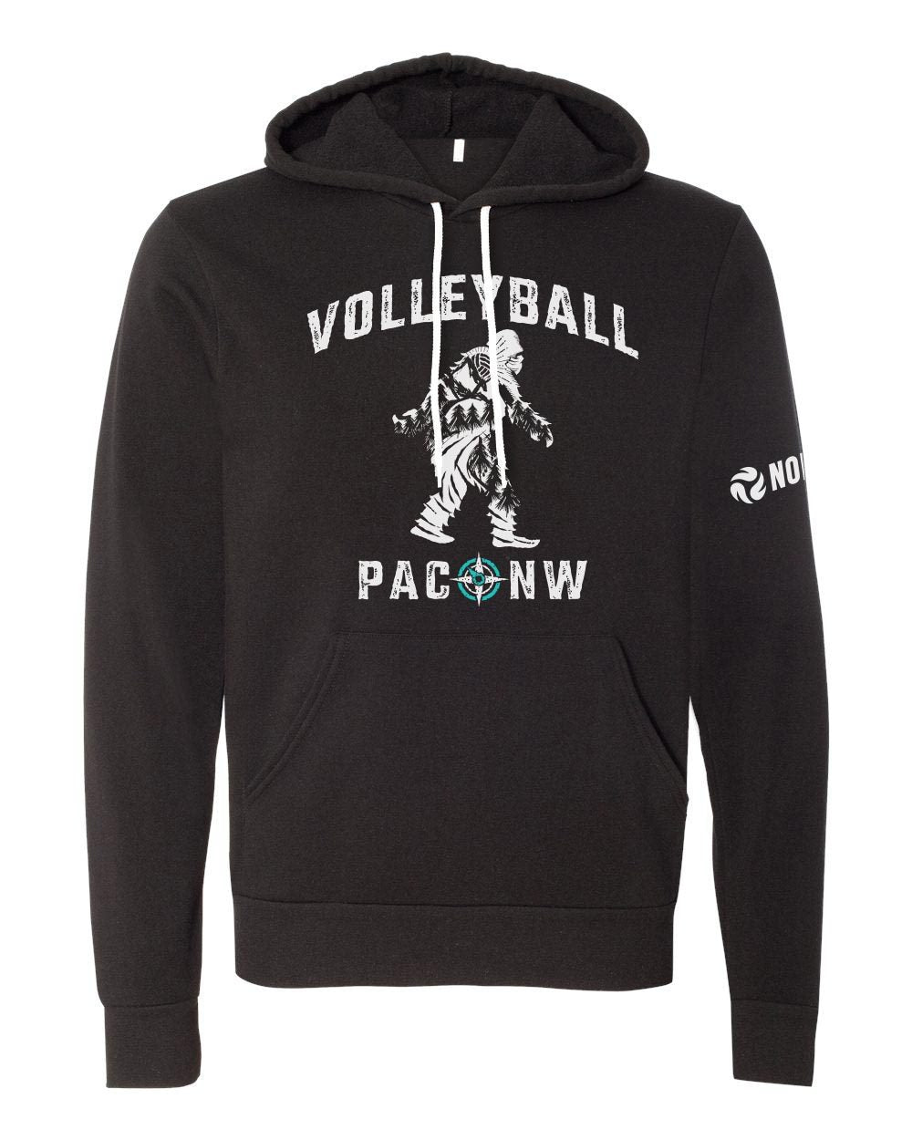 Sasquatch - PACNW Hooded Sweatshirt - No Dinx Volleyball