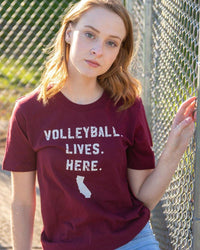 Volleyball Lives Here - CA - No Dinx Volleyball
