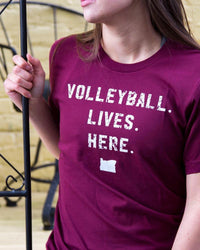 Volleyball Lives Here - OR