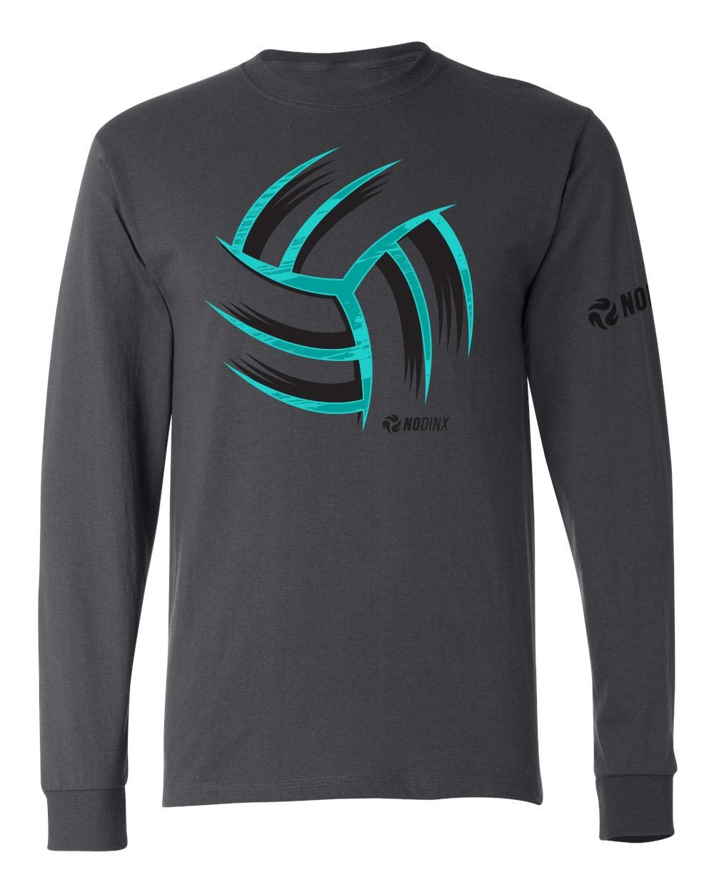 Warp Ball Long Sleeve Shirt - No Dinx Volleyball