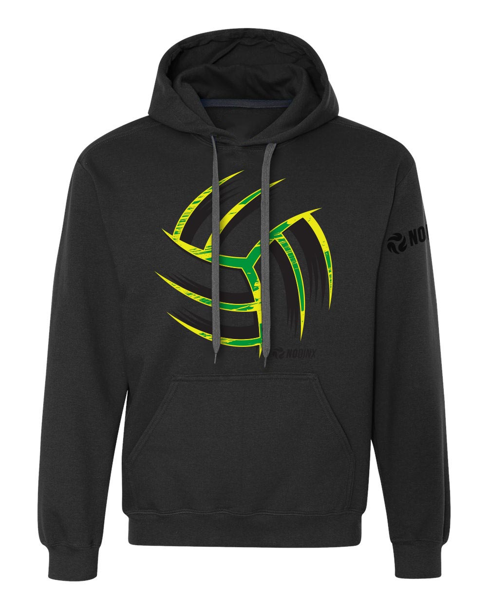 Warp Ball Hooded Sweatshirt - No Dinx Volleyball