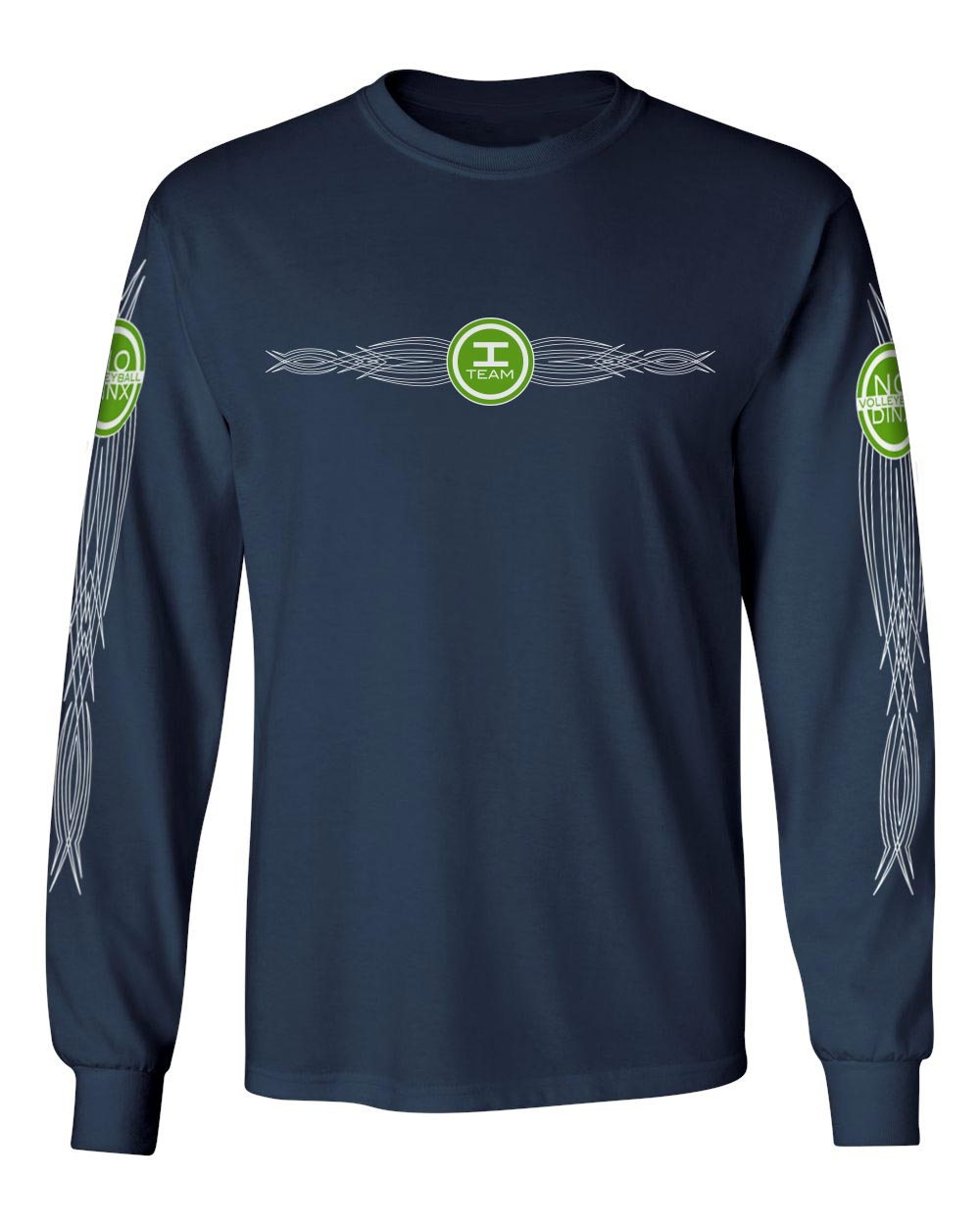 iTeam Long Sleeve Shirt - No Dinx Volleyball
