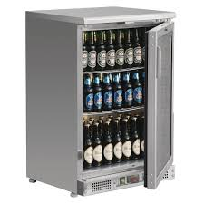 Polar Bar Display Cooler Stainless Steel 104 Bottles- Only $795.00