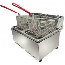 W-FRT80 Double Pan Fryer - payments from $0.75 P/DAY*