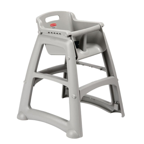 Rubbermaid Sturdy Stacking High Chair Platinum Price - From as little as $0.49 per day