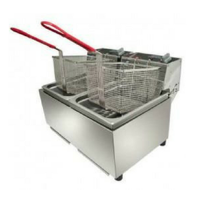 W-FRT50 Double Pan Fryer - Payments From $0.65 P/DAY*