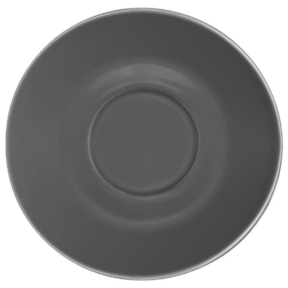 Olympia Cafe Saucers Charcoal 158mm - Pack of 12