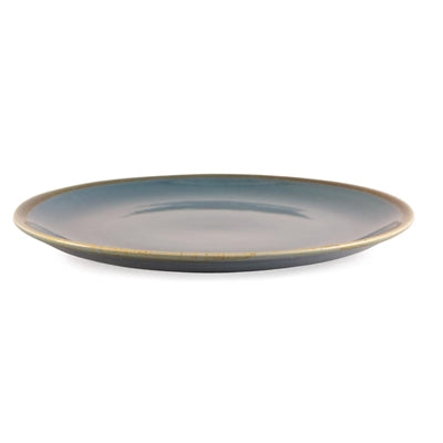 Olympia Kiln Round Plate Ocean 280mm - Set of 4