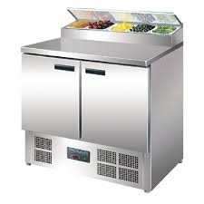 Polar 2 Door Salad and Pizza Prep Counter Stainless Steel - Only $1,595.00 inc GST