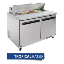 Polar 2 Door Preparation Counter Stainless Steel - Only $2,390.00 Inc GST or * payments from $ 1.60 P/Day