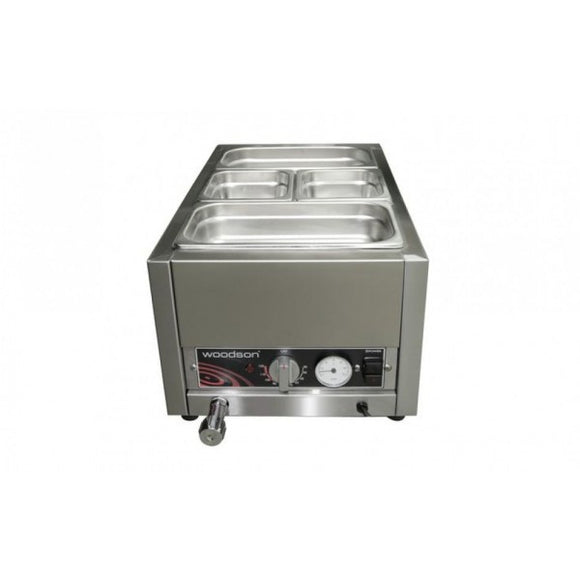 w.bms11 1/1GN Size Counter Top Bain Marie - Payments from $0.54 P/Day
