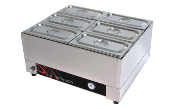w.bml21 2/1GN Size Counter Top Bain Marie - Payments from $0.65 P/Day