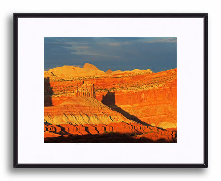 Sunset on the Castle, Capitol Reef Print
