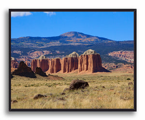Wall of Jericho, Capitol Reef Print