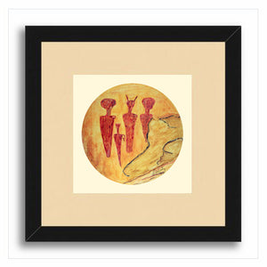 Ancient Witness Framed Print
