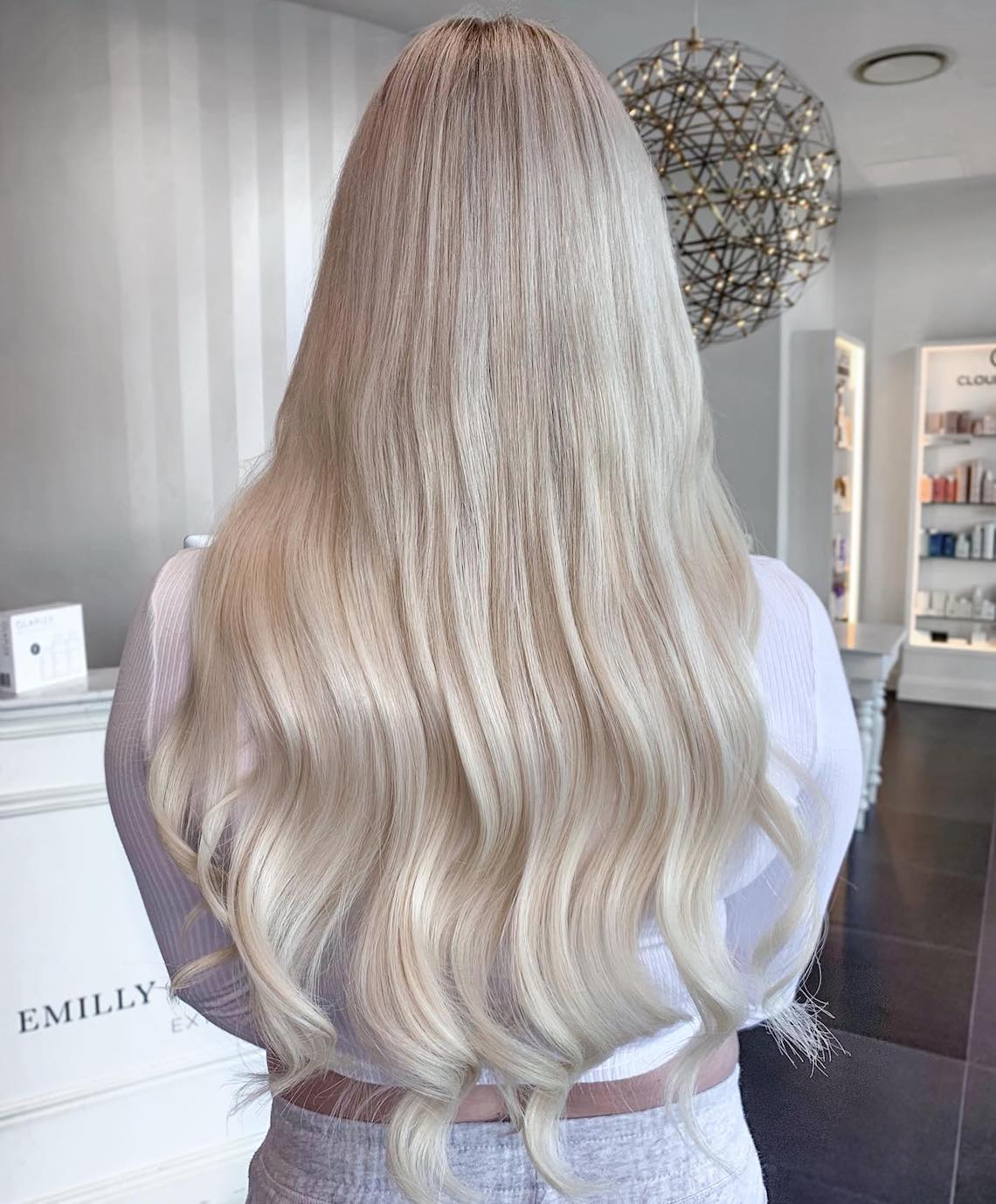 Remy hair extensions by EH Hair