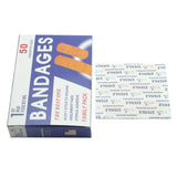 50pcs Waterproof  Band-Aid