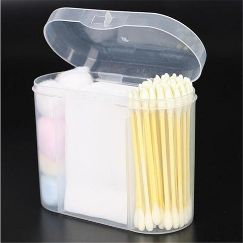 Portable 3 in 1 Soft Cotton Swab Kit