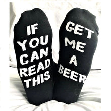 1 Pair Unisex Socks IF YOU CAN READ THIS Bring Me A Coffee / Beer /Glass Of Wine