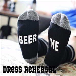 8 Styles humor words printed socks If You can read this