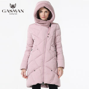 2017 New Winter Collection Brand Fashion Thick Women Winter Bio Down Jackets Hooded Women Parkas Coats Plus Size 5XL 6XL