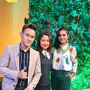 NTV 7 television appearance on the Feel Good Show - June 2018