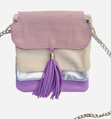 Lapis Bag (Purple + Silver)