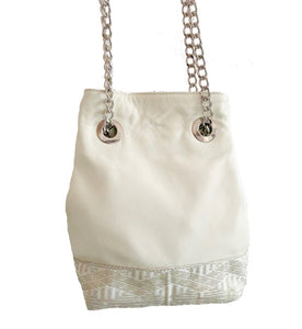 Melur Bucket Bag (White)