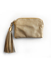 Melati Purse (Brown and gold)