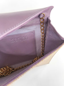 Saloma Small Envelope Bag (Purple)