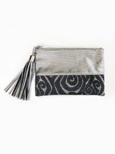 Melati Pouch (Black +Grey)