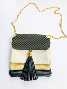 Lapis Bag (Black + Gold)
