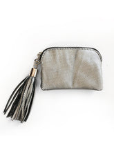 Melati Purse (Black + Silver)