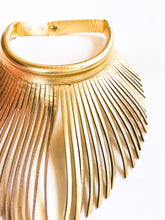Dayak Fringe Necklace (Gold)