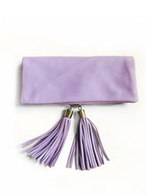 Reya Foldover Bag - Small (Purple)