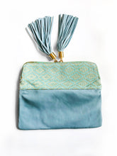 Reya Foldover Bag - Small (Mint Green)