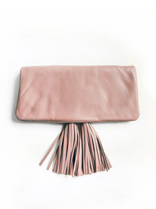 Reya Foldover Bag - Small (Taupe)