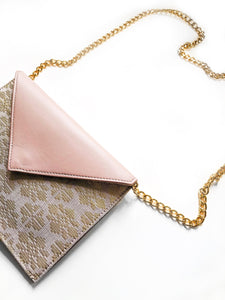 Saloma Small Envelope Bag (Taupe)