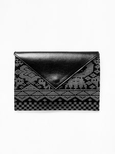 Saloma Small Envelope Bag (Black)