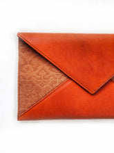 Saloma Big Envelope Bag (Orange)