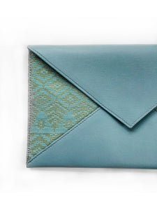 Saloma Big Envelope Bag (Mint Green)