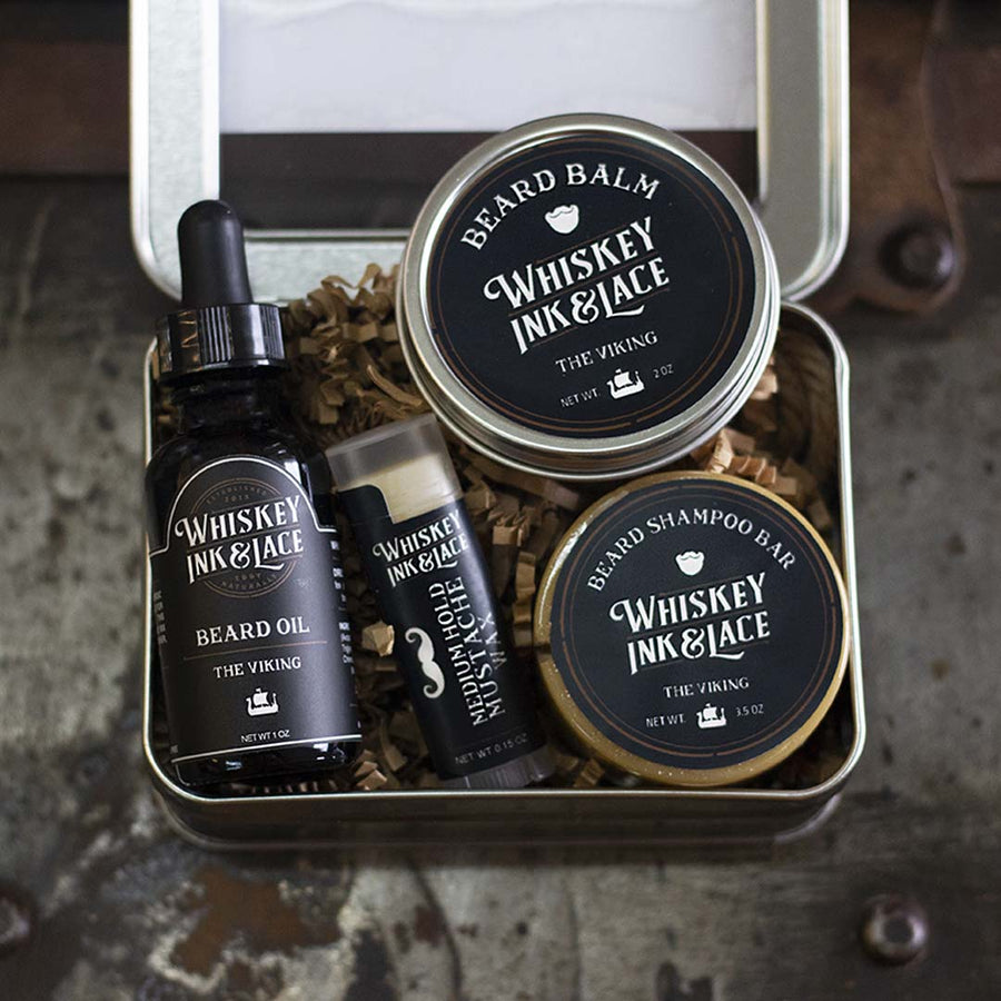 The Viking Beard Kit Deluxe