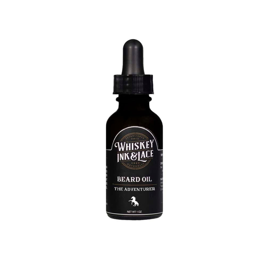 The Adventurer Beard Oil - Whiskey, Ink, & Lace