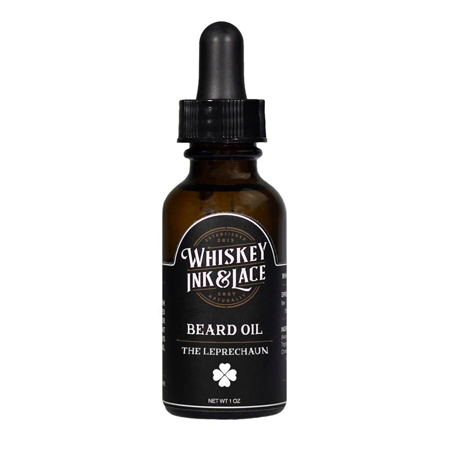 The Leprechaun Beard Oil - Limited Edition - Whiskey, Ink, & Lace